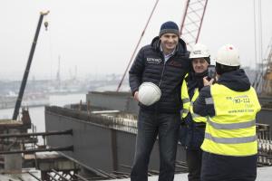 Кличко обещает взяться за метро на Троещину после достройки Подольского моста