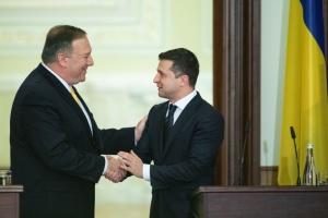 Зеленський обговорив з Помпео кредитні гарантії від США