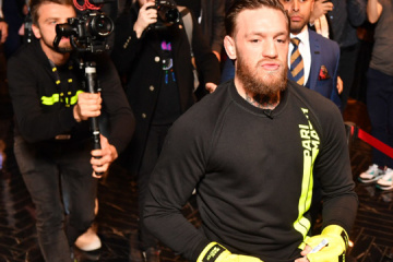 McGregor in Kyiv: Talking about Lomachenko, Usyk, football and politics