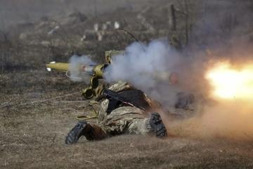 Ukrainian troops come under mortar fire near Krymske, Orikhove and Vodiane