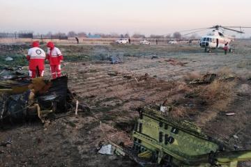 180人搭乗のウクライナ航空機、イラン首都近くで墜落=報道