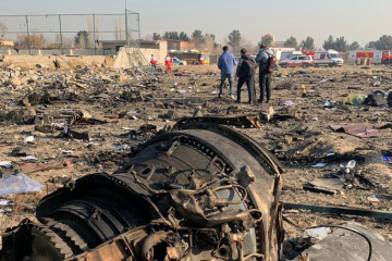 Ukrainian airplane crashes in Iran, 176 killed