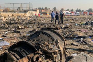 イラン・メディア、ウクライナ航空機墜落の犠牲者リスト報道