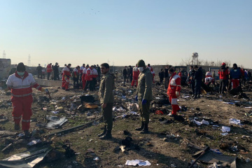 Office of Prosecutor General probes Ukrainian plane crash in Iran
