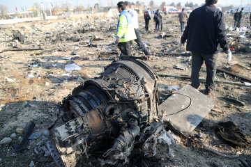 Eleven Ukrainians killed in Tehran plane crash