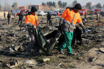Ukrainian experts to travel to Iran to investigate causes of plane crash