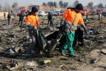 Außenminister Prystaiko: Die meisten Opfer von Flugzeugabsturz in Teheran Staatsbürger von Iran und Kanada