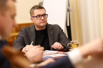 Bakánov: La tarea del SBU es garantizar la seguridad de los ucranianos a toda costa
