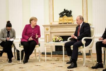 Merkel, Putin discuss Ukraine, coronavirus vaccine in phone call