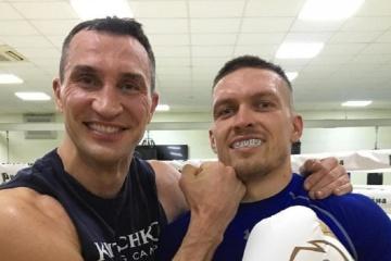 Boxen: Klitschko hilft Usyk bei seiner Vorbereitung auf Kampf mit Chisora