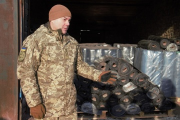 Over 20 tonnes of humanitarian cargo sent to Donbas