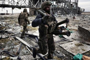 Aujourd'hui, l'Ukraine commémore les défenseurs de l'aéroport de Donetsk