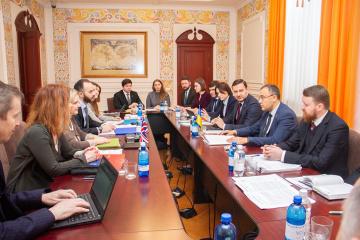 Ucrania y el Reino Unido inician consultas de trabajo sobre un nuevo acuerdo de cooperación
