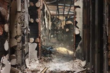 Dans le Donbass, un incendie a détruit une base des ambulanciers paramédicaux militaires