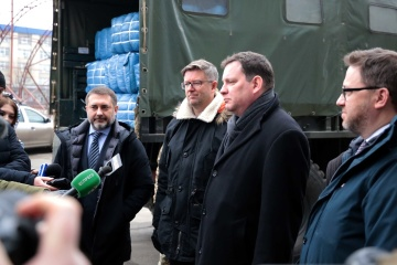 Do Donbasu przybyła pomoc humanitarna z krajów Unii Europejskiej