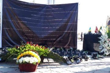 Diplomats from Ukraine, Sweden, Canada lay flowers at UIA crash site in Tehran