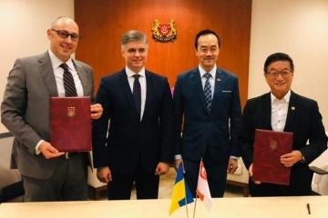 Exteriores hace una reseña de la visita de Prystaiko a Singapur