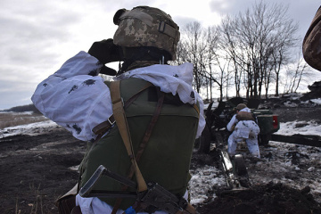 Ukrainian troops come under fire near Vodiane