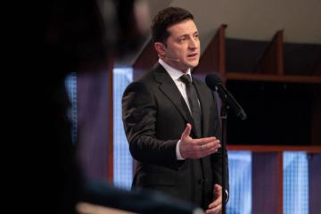 Zełenski potwierdził, że nie zamierza powtórnie kandydować