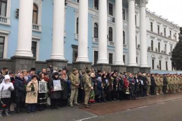 """Prezydent uczcił pamięć """"Cyborgów"""" w Ministerstwie Obrony"""