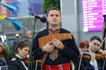 "Gedenken an gefallene ""Cyborgs"" am Flughafen Boryspil"