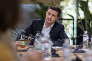 Zelensky trata con el emir de Qatar la ayuda humanitaria, cooperación económica e inversiones