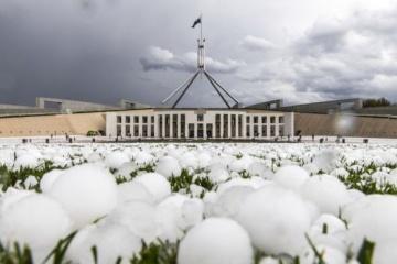 В Австралії випав град завбільшки із м'ячик для гольфу