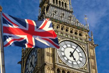 La Grande-Bretagne «regrette» que la police britannique ait qualifié le trident ukrainien  de symbole d'extrême droite