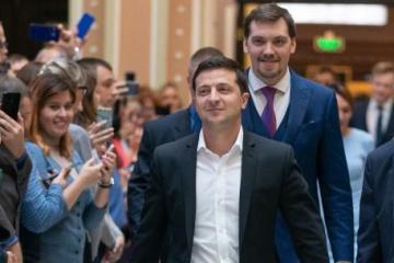 Volodymyr Zelensky et Olexiy Hontcharouk participeront au Forum économique de Davos