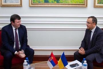 Serbia's new ambassador begins diplomatic mission in Ukraine
