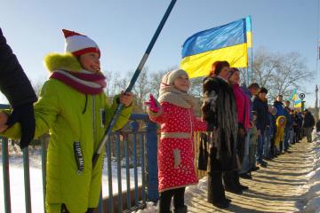 Ukraine feiert Tag von Sobornist