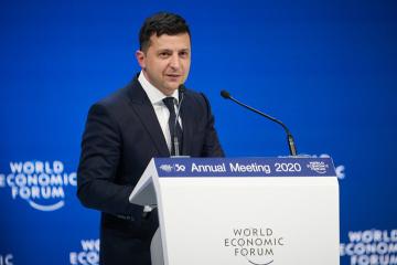 Zelensky interviene en el Foro Económico de Davos