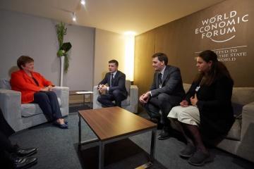 Гончарук обсудил с директором МВФ новую программу финансирования