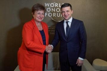 IMF専務理事、対ウクライナ・プログラムのレビューにつきコメント
