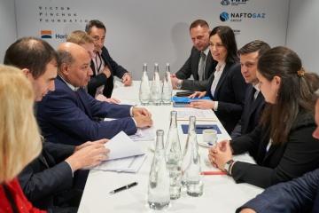Глава государства встретился с президентом ЕБРР
