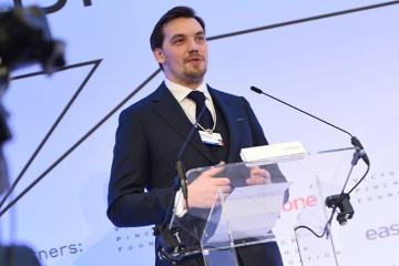 Honczaruk o Davos - Wzrasta zaufanie międzynarodowych partnerów do Ukrainy