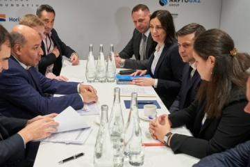 Prezydent Ukrainy spotkał się z przewodniczącym Europejskiego Banku Odbudowy i Rozwoju