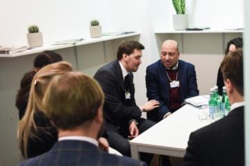 Goncharuk trata con el presidente del BERD las posibilidades de atraer inversiones