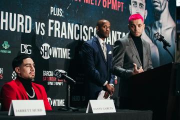 Ukrainian boxer Redkach vows to knock out Garcia on Jan 25