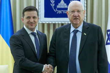 Zelensky expects to increase trade turnover with Israel up to $2 bln in short term