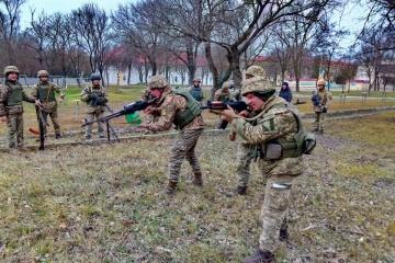 В Одесской области морпехов тренируют по британской программе Orbital