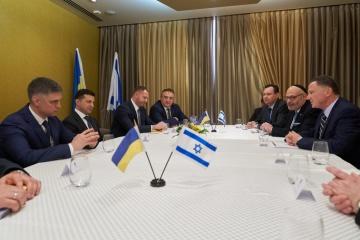 Zelensky calls on Israel to ratify FTA with Ukraine