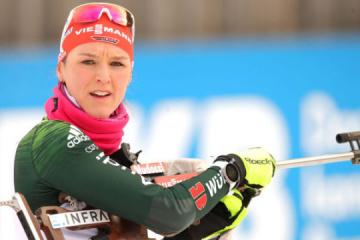 Херрманн выиграла индивидуальную гонку этапа Кубка мира в Поклюке