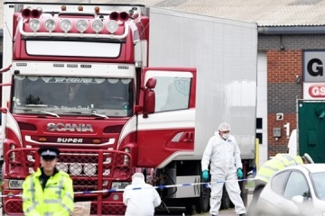 Ирландия выдаст Британии водителя грузовика с 39 трупами