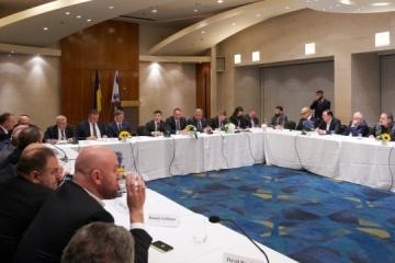 Präsident Selenskyj spricht mit israelischen Geschäftsleuten über Investitionen