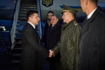 Volodymyr Zelensky est en visite officielle en Pologne