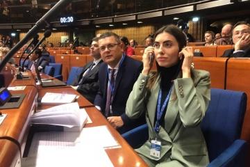Un député ukrainien élu vice-président de l'APCE