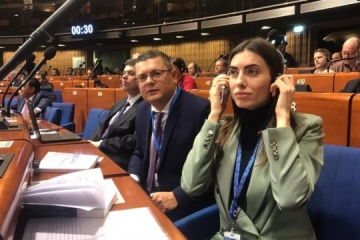 Ukrainian MP elected as PACE Vice President
