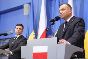 Ukraina zawsze może liczyć na wsparcie Polski – Duda