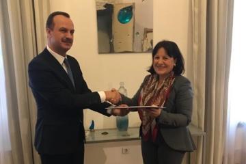 New Ukrainian ambassador begins diplomatic mission in Croatia